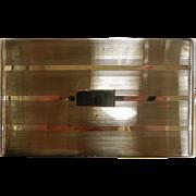 Vintage NAPIER Sterling Silver Cigarette Case 621/101