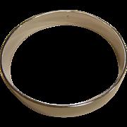Polished Sterling Silver Bangle Bracelet