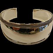 Fine Polished Sterling Silver Cuff Bracelet