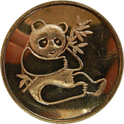 International Silver Trade Unit Fine .999 Silver Panda Round
