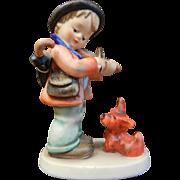 """Vintage Goebel Hummel Porcelain Figurine """"Puppy Love"""""""