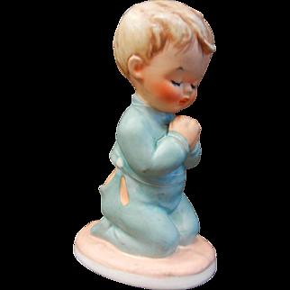 """Vintage 1957 Goebel Hummel Porcelain Figurine """"Bless Us All"""""""