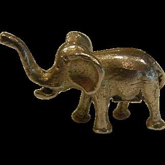 Tiny Sterling Silver Elephant