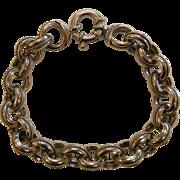 MILOR Italy Sterling Silver Link Bracelet