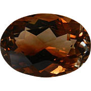Fine Imperial Topaz Gemstone 6.94 Cts