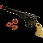Vintage Toy Cap Gun w/ Cap Refills