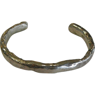 Unique Sterling Silver Cuff Bracelet