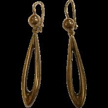 Vintage Signed Poul Warmind Danish Sterling Silver Earrings