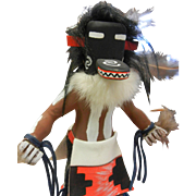 Hand Crafted Painted Wooden Kachina Figurine