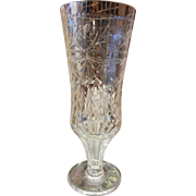 Fine Vintage Lead Crystal Glass Vase