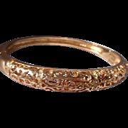 Vintage Filagree Gold Filled Bracelet
