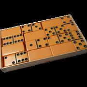 Vintage Set of Dominos in Original Box