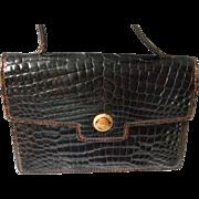 Authentic Vintage Gucci Alligator/Crocodile  Handbag