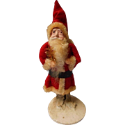 Vintage Felt and Wire Santa, 40's - Red Tag Sale Item