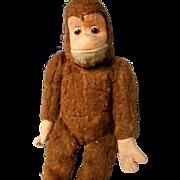 Vintage German Mohair Monkey