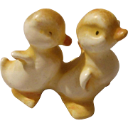 Vintage Set of Porcelain Ducks