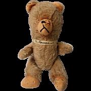 Vintage Jointed Mohair Teddy Bear