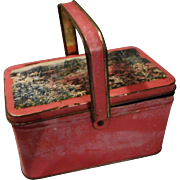 Vintage Child's Tin Lunch Box