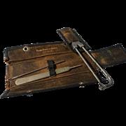 Vintage Bard-Parker Knife Set in Leather Case