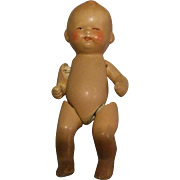 All Bisque Jointed Baby Doll, Germany