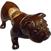 Vintage Bulldog Bottle, Holland