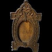 Vintage All Metal Miniature Frame
