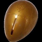 Vintage Mid Century Red Goose Shoes Golden Egg