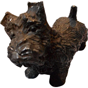 Vintage Cast Metal Scottie Dog