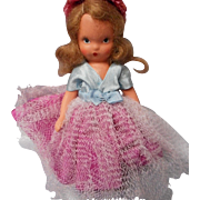 Vintage All Bisque Story Book Doll