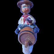Anri, Italian hand carved bottle cork