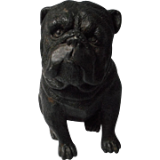 Vintage Cast Metal Bulldog