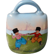 Hand Painted Porcelain Bell, Germany