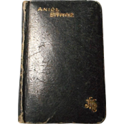 Vintage Anioł Stróż Polish Prayer Book