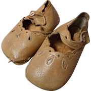 Vintage All Leather Child's Side Button Shoes