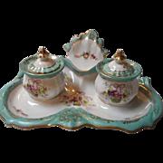 Vintage Porcelain Dresser Set