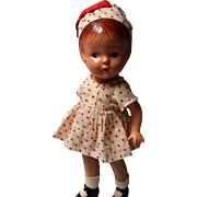 Vintage All Compo Petite Sally Doll
