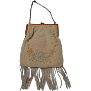 Antique Beaded Purse, France