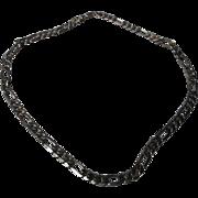 Vintage Sterling 20 inch Link Neck Chain