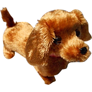 Vintage Plush Dachshund Battery Operated