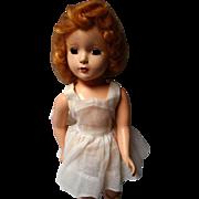 Vintage Hard Plastic Doll, - Red Tag Sale Item