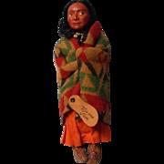 Vintage Compo Face Skookum Indian Doll