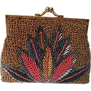 Vintage Small Beaded Handbag
