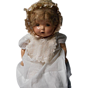 """Vintage Composition """"Mama"""" Doll with Crier"""