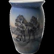 Vintage Copenhagen Denmark Vase, Dahl Jensens