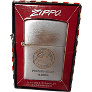 Vintage Zippo Lighter, Sword Fish