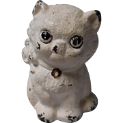 Vintage Cast Iron Kitten Paperweight, Hubley