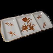 Vintage Limoges France Divided Plate