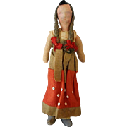 Vintage All Cloth Doll