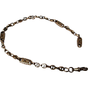 9 CT Gold Victorian Watch Chain