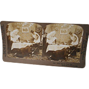 Vintage Stereo-Scope Picture 1901, Griffith
